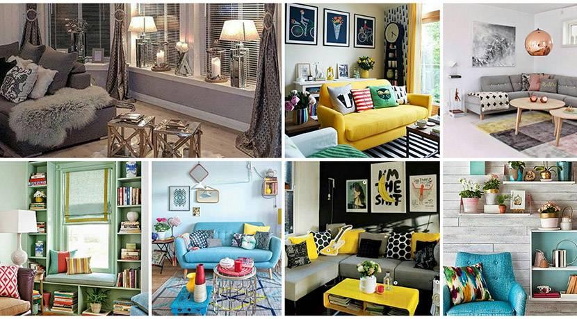 Salon İçin Modern Ve Avangart Dekorasyon Önerileri