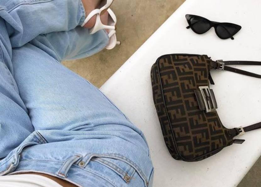 Trendler; Mini Baget Çantalar!