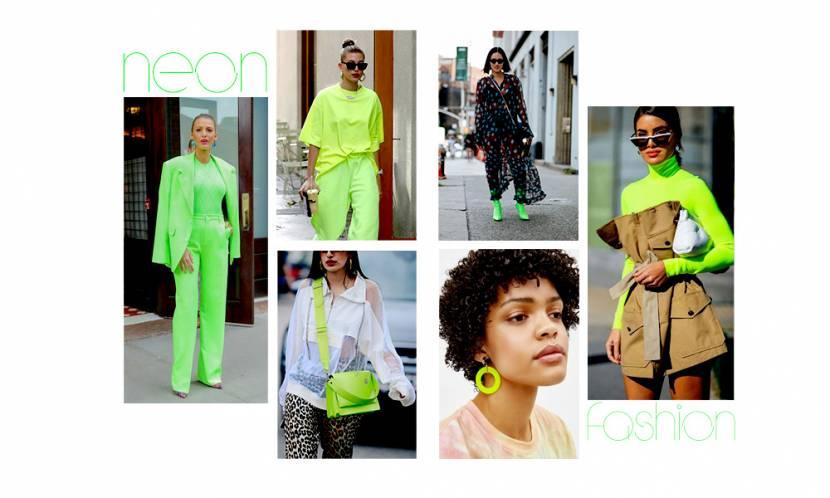 Bu yılın yükselen trendi; Yeşil Neon Çılgınlığı!